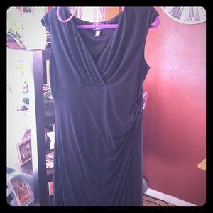 Classy black evening dress. Sz 14 Great condition